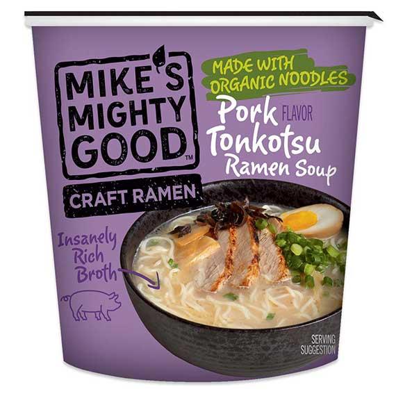 Pork Tonkotsu Flavor Ramen Noodle Soup Cup