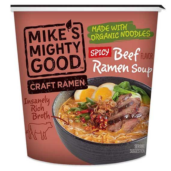 Spicy Beef Flavor Ramen Noodle Soup Cup