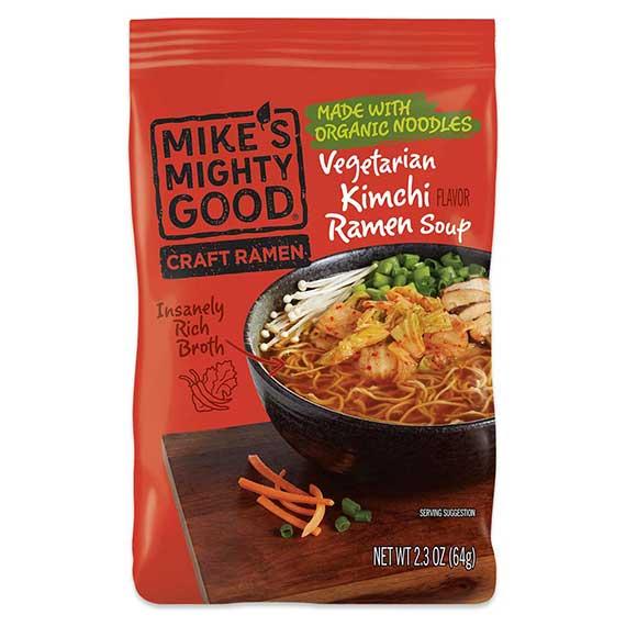 Vegetarian Kimchi Ramen Noodle Pillow Pack