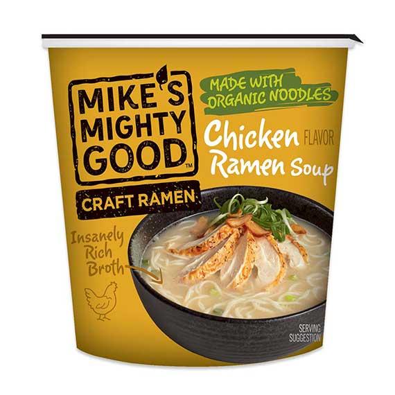 Chicken Flavor Ramen Noodle Soup Cup