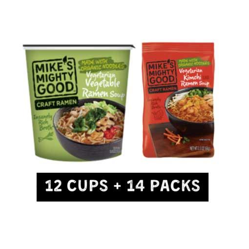 Vegetarian Best-Sellers Ramen Sampler Pack